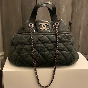 Chanel in the mix large bag in black
